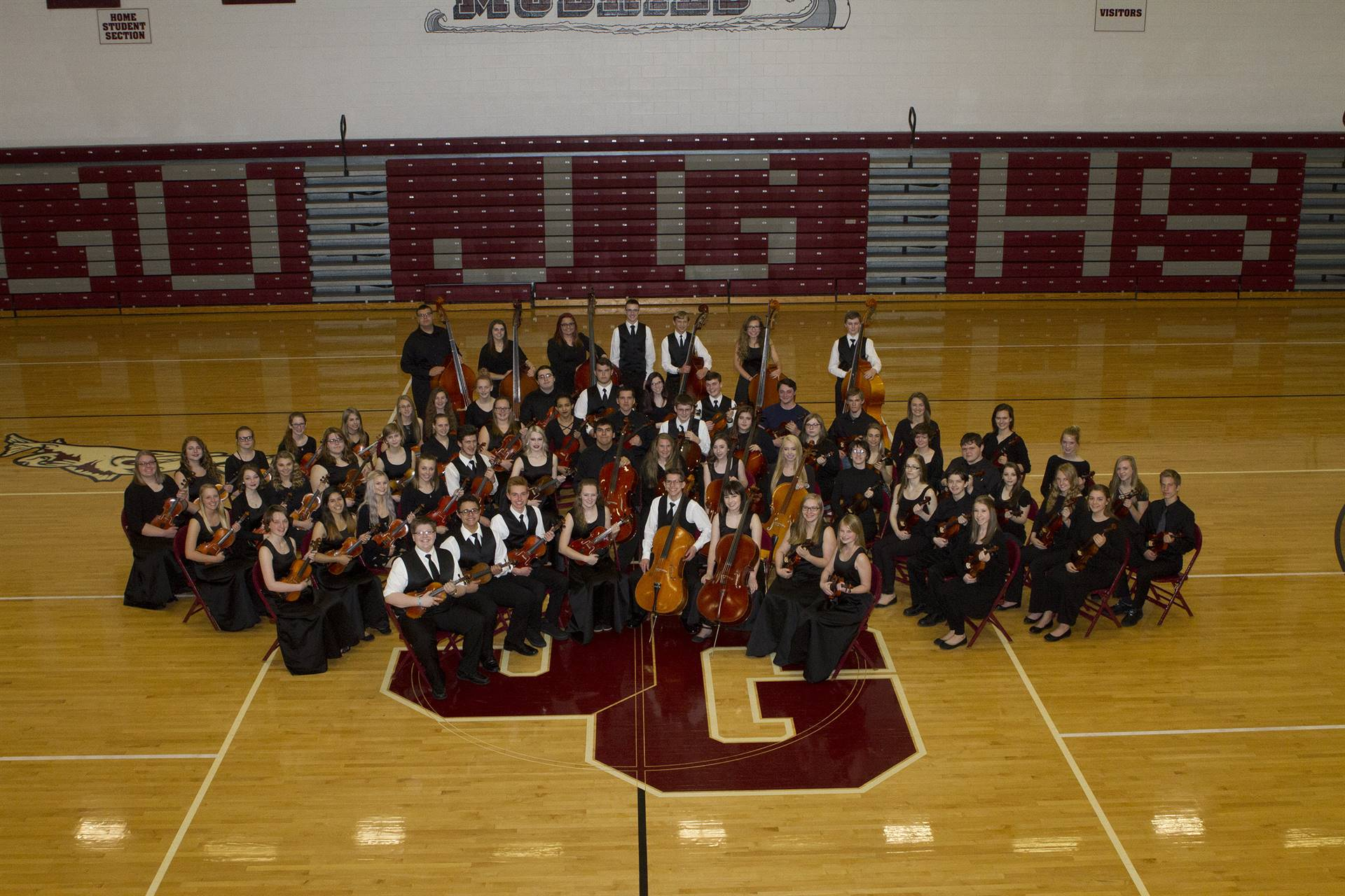 JGHS Orchestra, Spring 2017