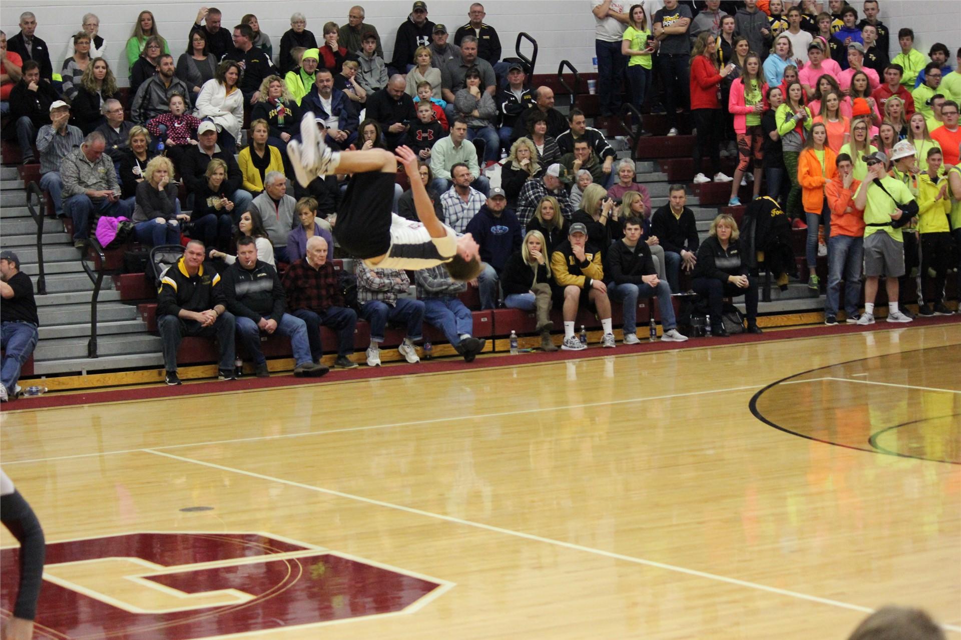 Josh Hartman flipping