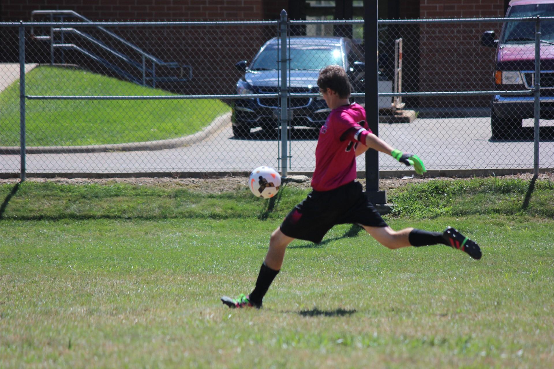 Zak Harper soccer