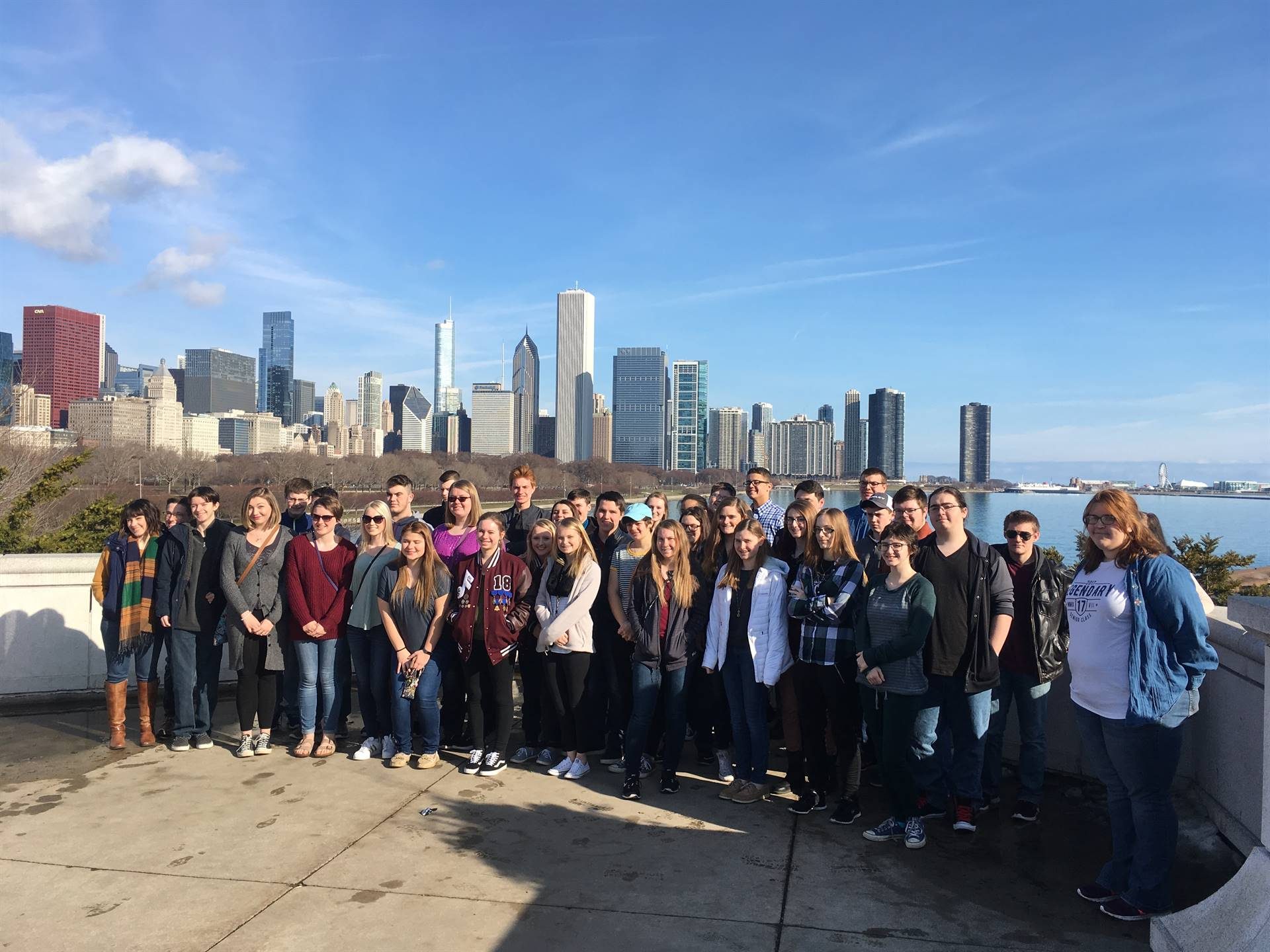 JGHS Orchestra in Chicago, 2017
