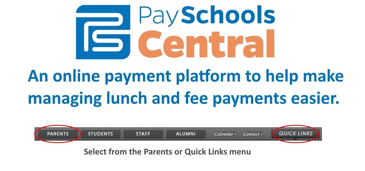 PaySchools Announcment