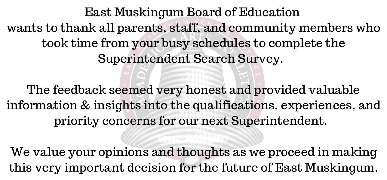 BOE Survey Thanks