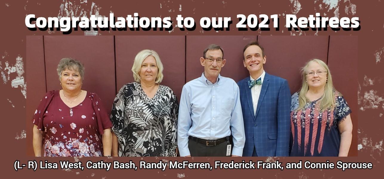 2021 Retirees